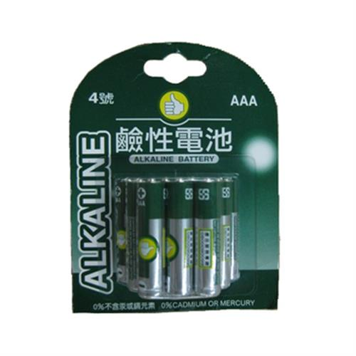 FP 鹼性電池AAA(1.5V)4號電池(12入/組)
