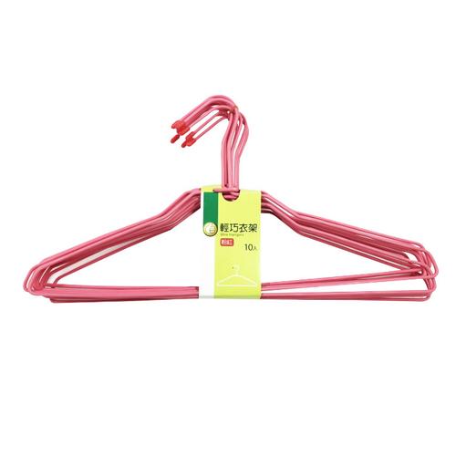 《FP》輕巧衣架-粉紅(10入/包)
