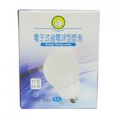 《FP》17W 球型省電燈泡 120V(白光)