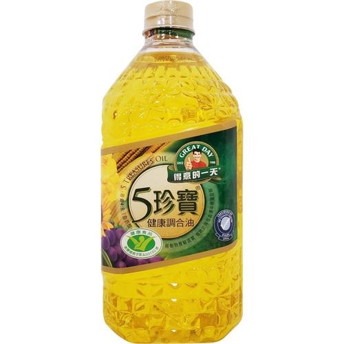 得意的一天 五珍寶健康調和油(2.4L/瓶)