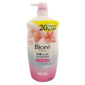 《Biore》蜜妮淨嫩沐浴乳-浪漫保濕型(1000ml/瓶)