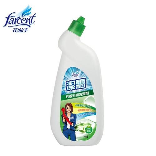 潔霜 芳香浴廁清潔劑-綠茶馨香(750gm/瓶)