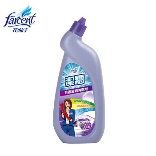 《潔霜》芳香浴廁清潔劑-薰衣草花園(750gm/瓶)