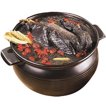 饗城 鹿茸冬蟲烏骨雞湯(2200g+-5%/碗)