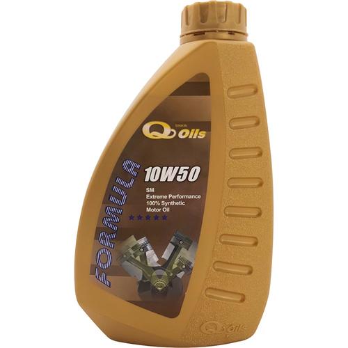 《新金Q Oils》全合成機油10W50(1L/SM)