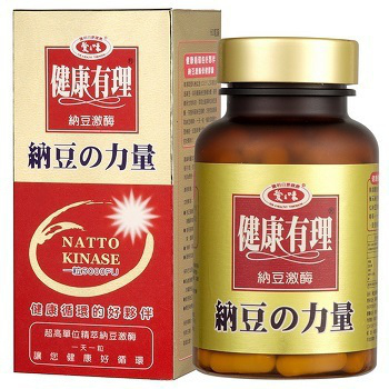 《愛之味生技》納豆激酶保健膠囊60粒(*1)