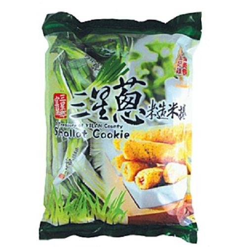 台灣美食全記錄 宜蘭三星蔥糙米捲(350g/包)