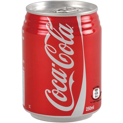 《可口可樂》可樂(250ml*24罐/箱)