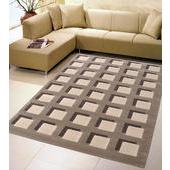 《Ambience》Cosiline超柔細雕花毯-格子(160x230cm)