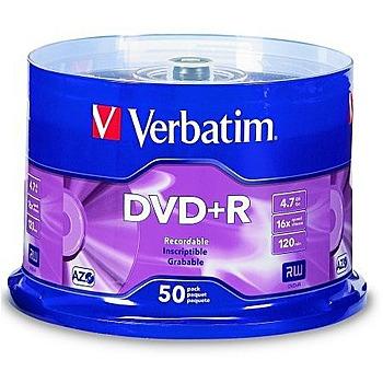 Verbatim 威寶 藍鳳凰 16x DVD+R 50片