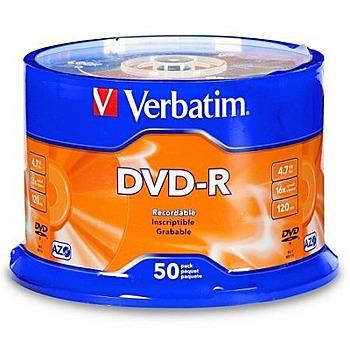 Verbatim 威寶 藍鳳凰 16x DVD-R 50片