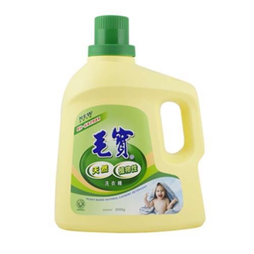 毛寶 植物性洗衣精(3000g/瓶)