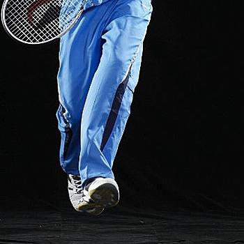 SASAKI 夜間反光功能透氣式平織長褲-褲後口袋加拉鍊 中性款式 西武藍/丈青(XL)