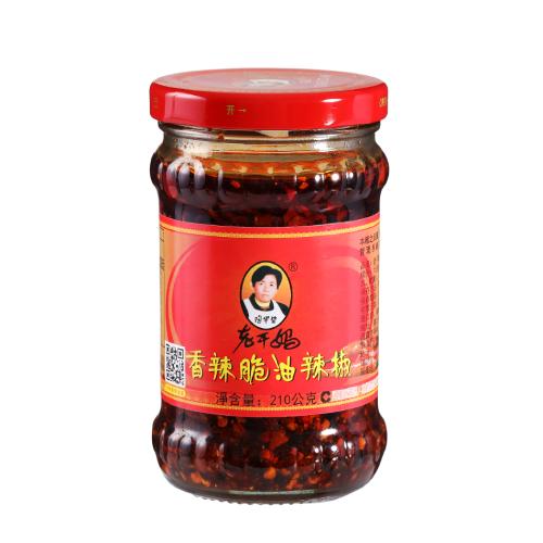 老干媽 香辣脆油辣椒(210g/瓶)