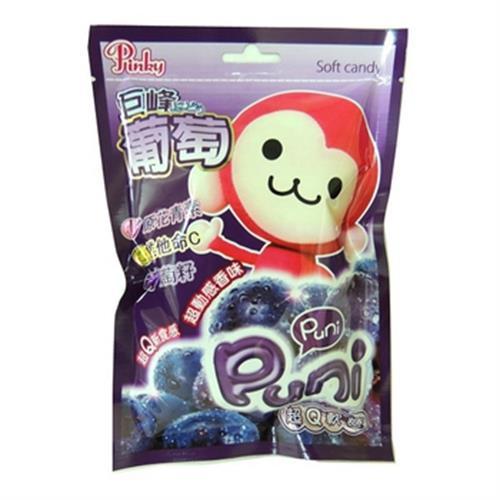 Pinky Puni Puni超Q軟糖-巨蜂葡萄(65g/包)