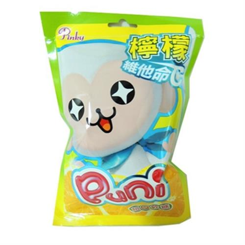 Pinky Puni超Q軟糖檸檬(65g/包)