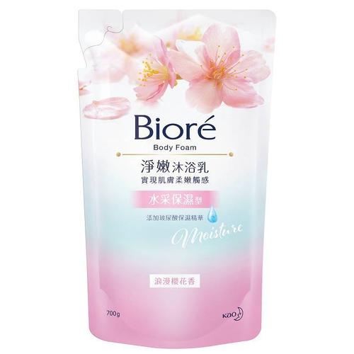 Biore 蜜妮淨嫩沐浴乳浪漫保濕型(700ml/包)