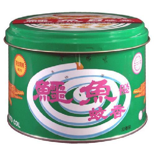鱷魚 蚊香鐵罐(30卷/罐)