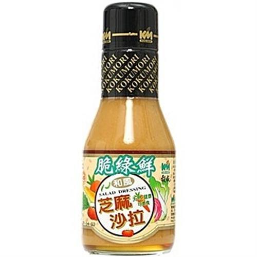 穀盛 脆綠鮮芝麻沙拉醬(220ml/瓶)
