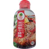 《品高》牛排醬-黑胡椒300g/瓶