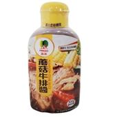 《品高》牛排醬-蘑菇(300g/瓶)