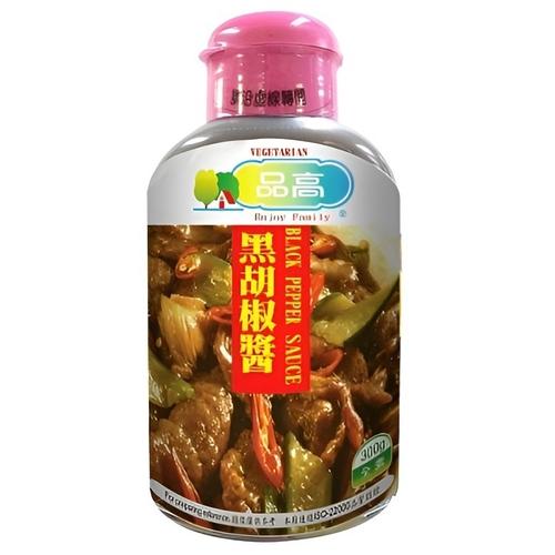 品高 黑胡椒醬-素食(300g/瓶)