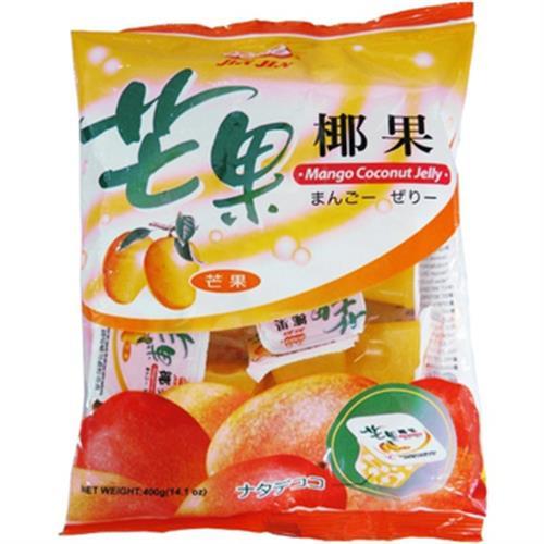 晶晶 芒果椰果果凍(400g/包)