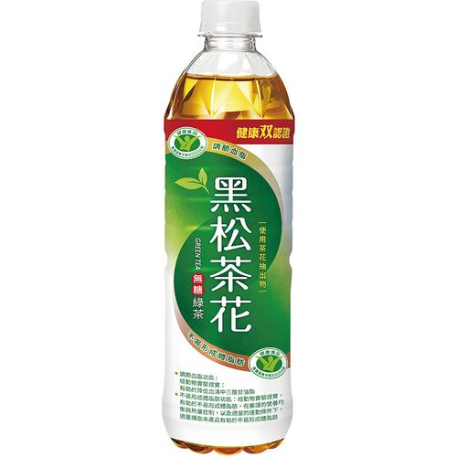 黑松 茶花綠茶(580mlx4瓶/組)