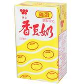 《味全》香豆奶-雞蛋(250mlx24包/箱)