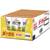 《光泉》果汁時刻-芒芭柳汁(250ml*24包/箱)