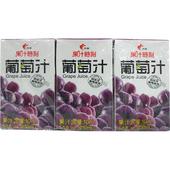 《光泉》果汁時刻-葡萄汁(250ml*6包/組)