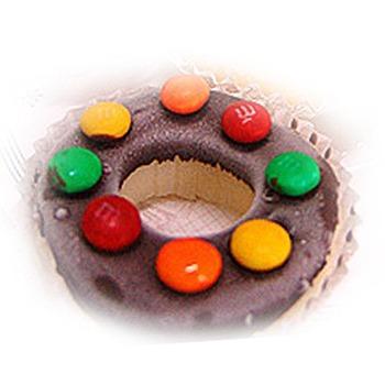 菖樺台灣日本冰 甜甜圈冰點 牛奶MM巧克力(108g+-5/入*1入)
