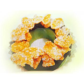 菖樺台灣日本冰 甜甜圈冰點 情人果玉米片(108g+-5/入*1入)