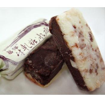菖樺台灣日本冰 牛軋糖冰磚 巧克力口味(22g+-5/入*1入)