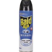 《Raid雷達》雙效噴霧殺蟲劑(500ml/罐)