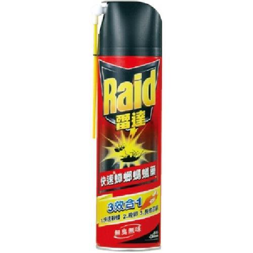 Raid雷達 快速蟑螂螞蟻藥(無臭無味)(550ml/罐)