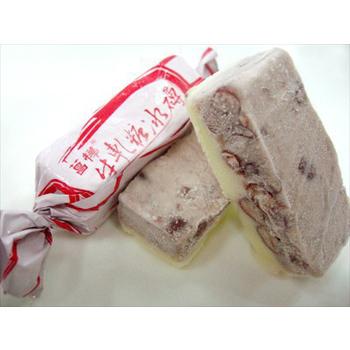 菖樺台灣日本冰 牛軋糖冰磚 紅豆口味(22g+-5/入*1入)