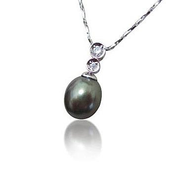 小樂珠寶 3A南洋深海貝珍珠墬子(唯美設計款)