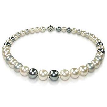 小樂珠寶 3A南洋深海貝珍珠項鍊(俐落單品款)