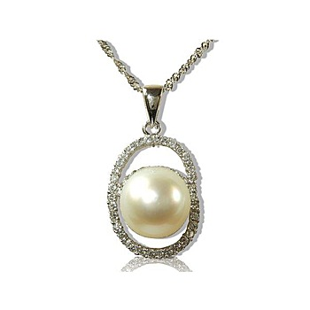 小樂珠寶 頂級南洋珠墬子(66大順美鑽款)