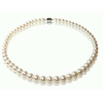 小樂珠寶 AKOYA最頂級7-7.5mm日本珍珠項鍊
