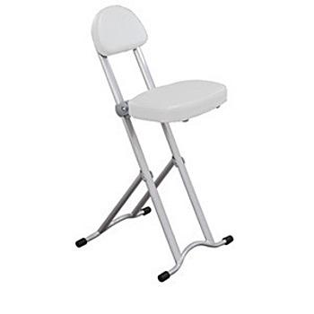 C&B Easy折無段式折合便利椅(白色)