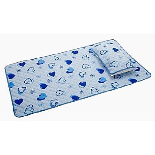 巧易收好貼心防水保潔墊-單人(藍色)