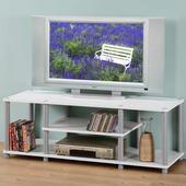 《Homelike》120cm電視系統架(白色)