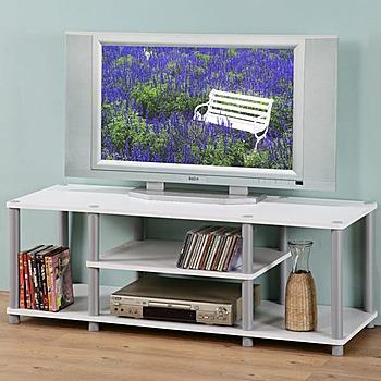 Homelike 120cm電視系統架(白色)