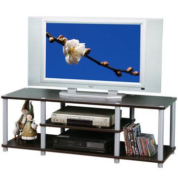 《Homelike》120cm電視系統架(胡桃色)