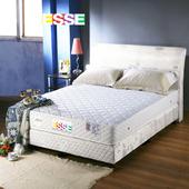 《ESSE御璽名床》【精緻手工】二線獨立筒床墊3.5x6.2尺 -單人