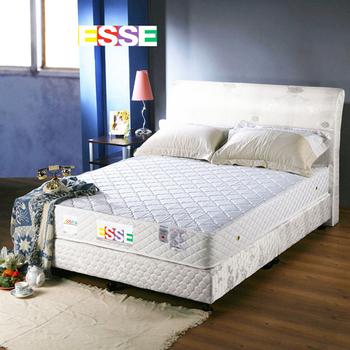 《ESSE御璽名床》【精緻手工】二線獨立筒床墊5x6.2尺( 雙人尺寸)買再送記憶枕(單人X1 / 雙人以上X2)