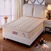 《ESSE御璽名床》【高回彈乳膠】三線獨立筒床墊5x6.2尺 -雙人