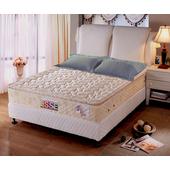 《ESSE御璽名床》【舒壓記憶】正三線獨立筒床墊3.5x6.2尺 -單人